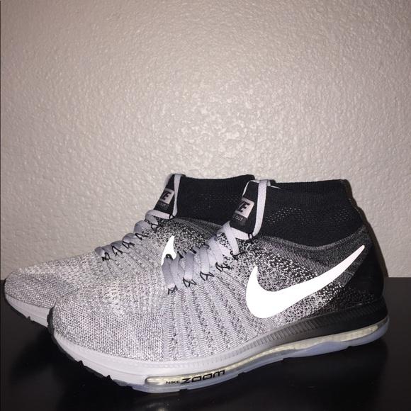 new product b8ac6 88eeb Nike Zoom All Out Flyknit Oreo Wolf Grey. M 5c7f344bbaebf64cd3c89e47